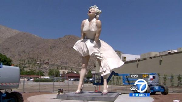 Did You Know Marilyn Monroe Has Returned To Palm Springs